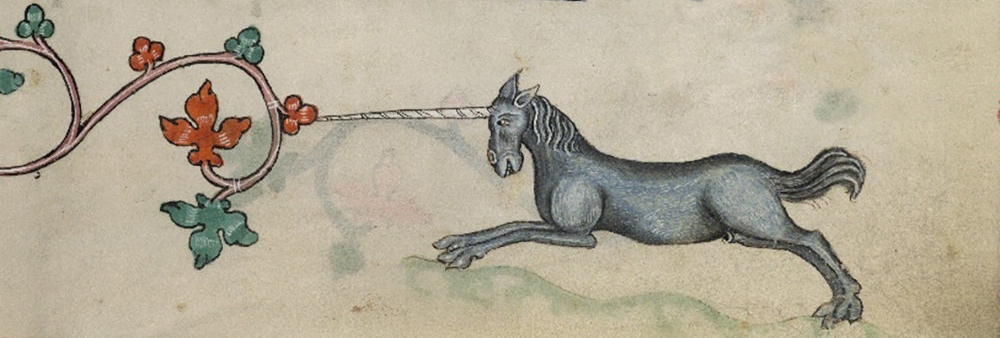 Marginalia unicorn